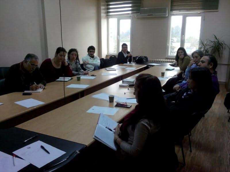 İnternet Gazeteciliği Eğitimi 15 Şubatta Yapıldı.